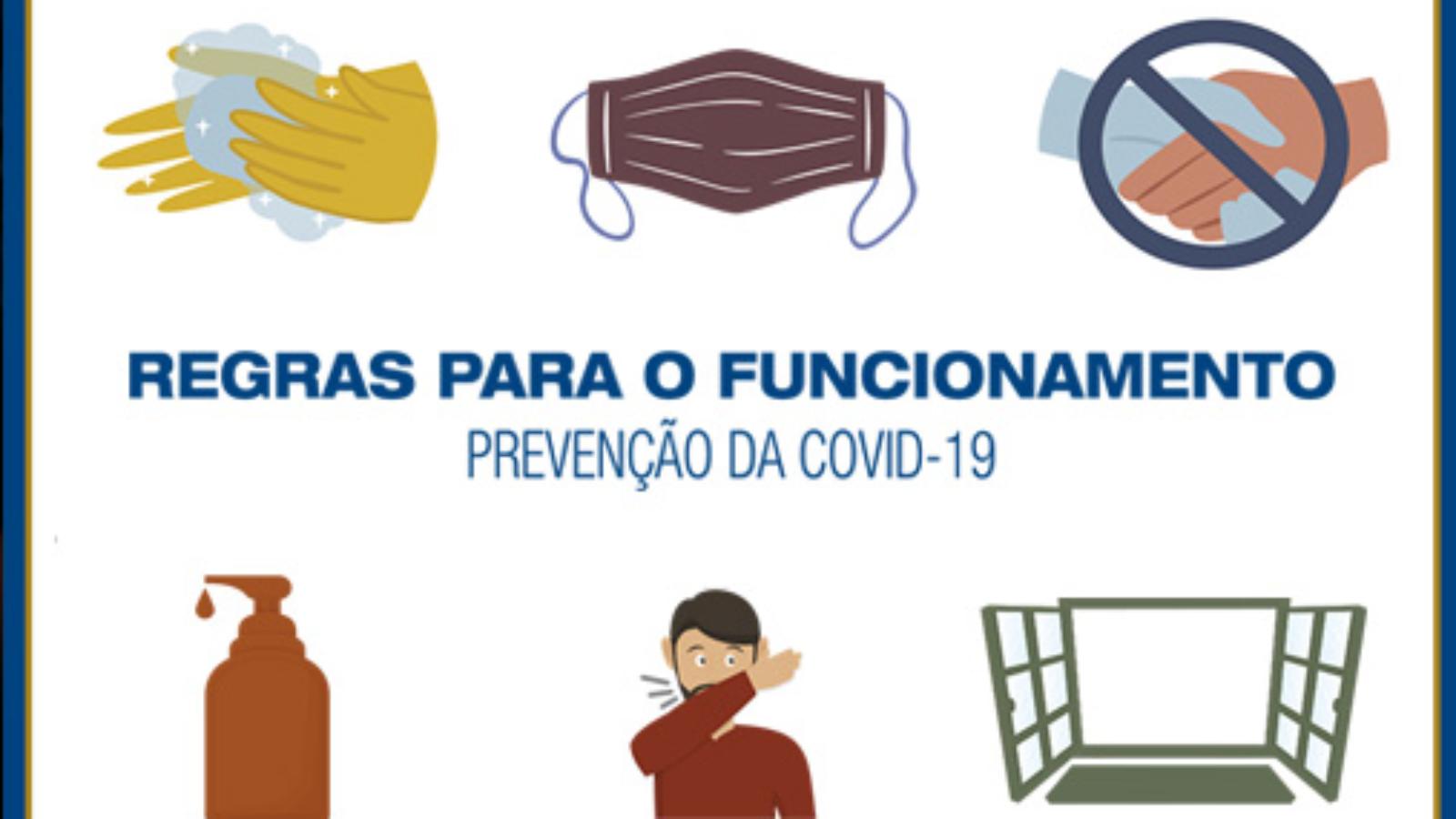 regras para o funcionamento do comércio no municipio do Rio de Janeiro
