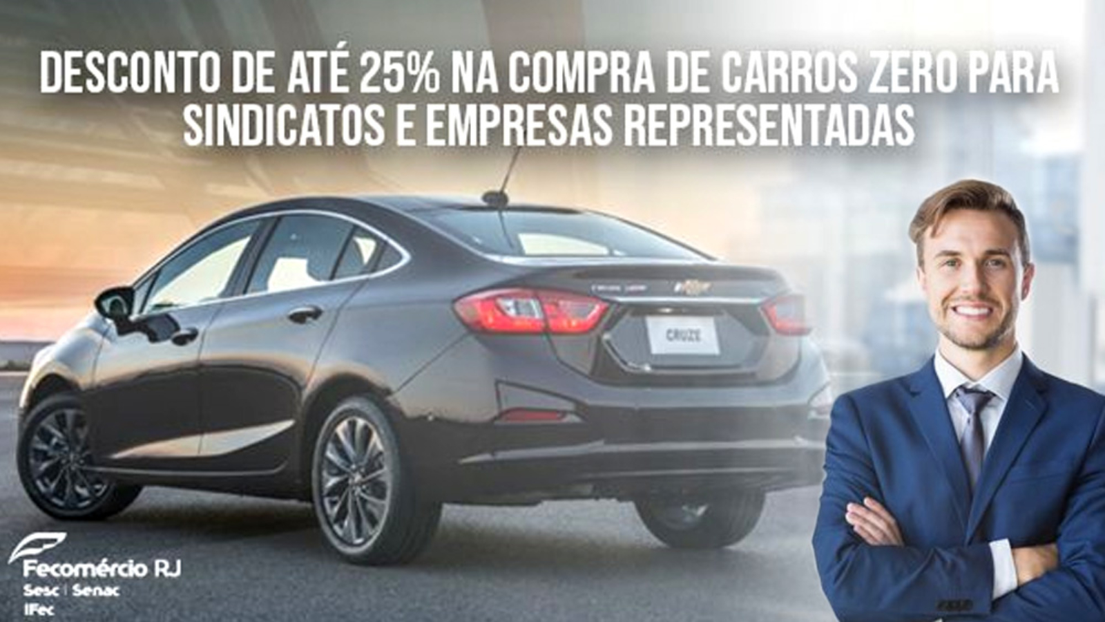 Fecomércio RJ fecha parceria com a General Motors do Brasil