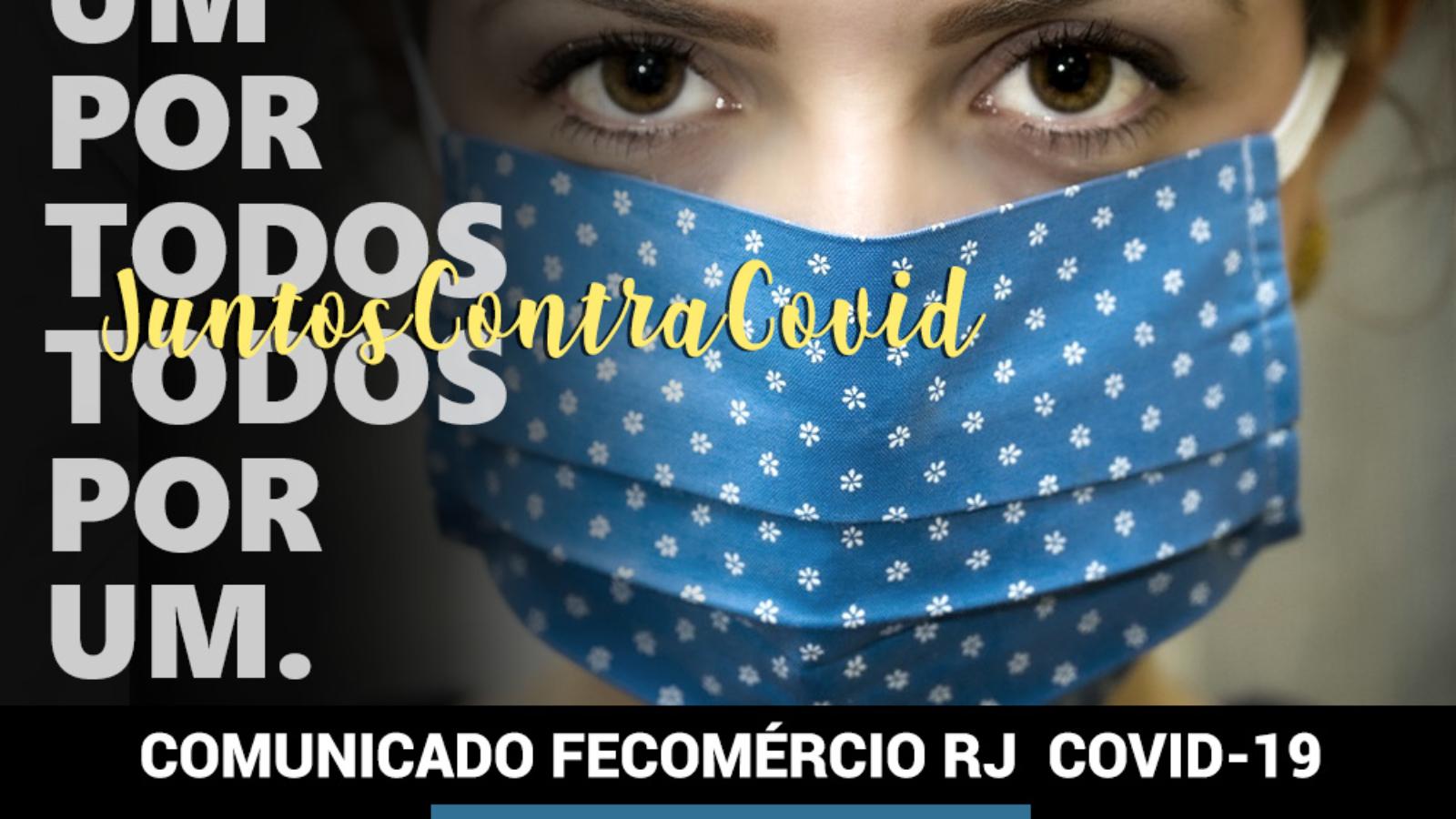 COMUNICADO FECOMÉRCIO RJ COVID-19